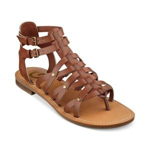 Guess gladiator sandals 7.5